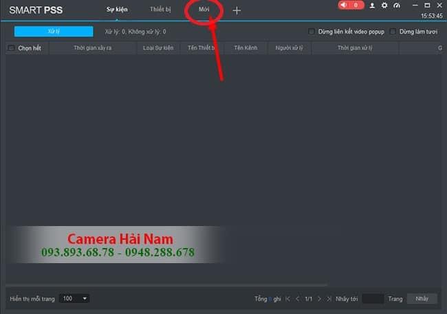 Hướng dẫn cài đặt, sử dụng phần mềm Smart PSS xem camera Dahua