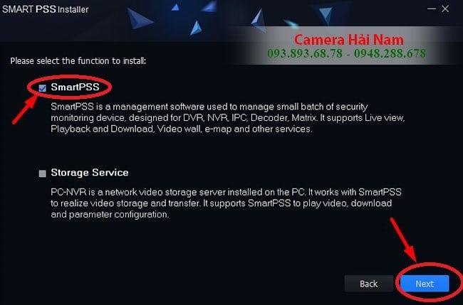 Cài đặt phần mềm xem camera Dahua Smart PSS vào máy tính, PC