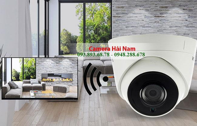 Camera Hikvision DS-2CE56H0T-ITPF 5MP Dome Smart IR 30m, Hỗ trợ 4 Công nghệ AHD - HDTVI - HDCVI - CVBS