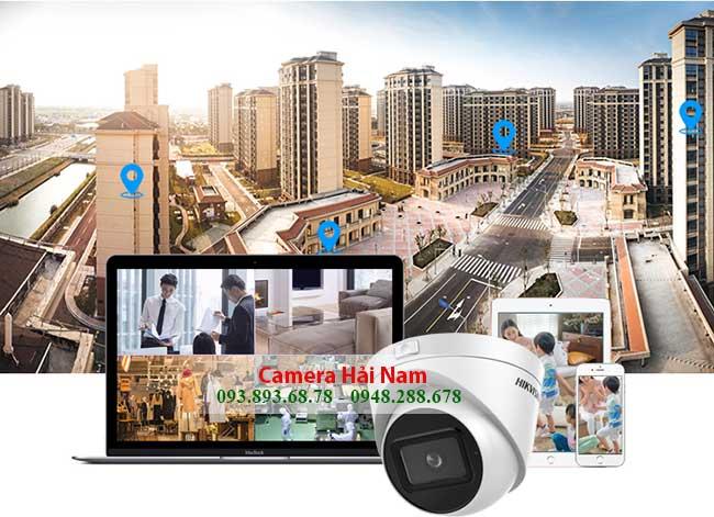 Camera Hikvision DS-2CE56H0T-IT3ZF 5MP Dome Hồng ngoại 40 mét, Chống nước Giá rẻ