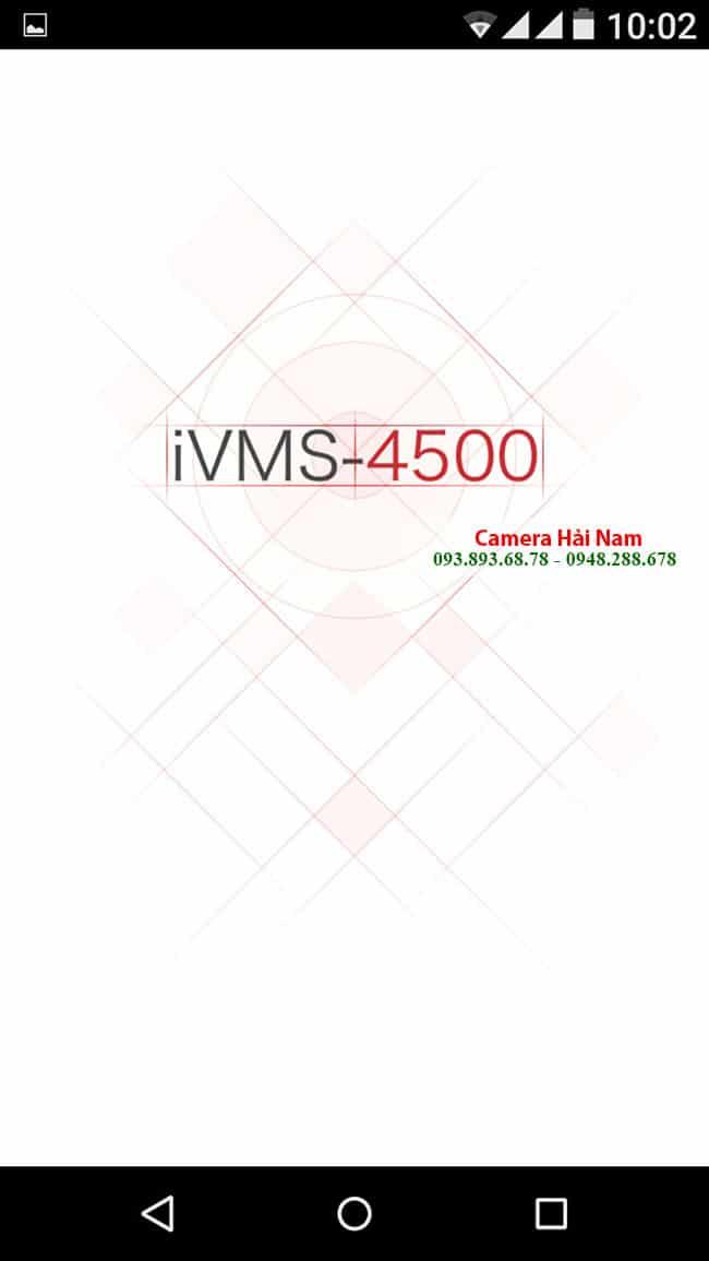 Download IVMS 4500 cho điện thoại hệ điều hành Androi