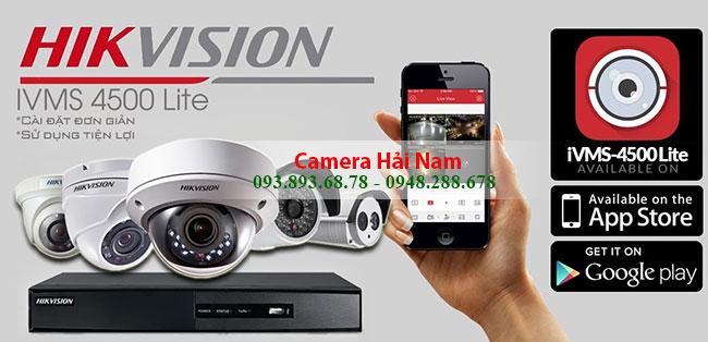 Tải IVMS 4500 lite & Cài đặt Camera Hikvision cho điện thoại Androi