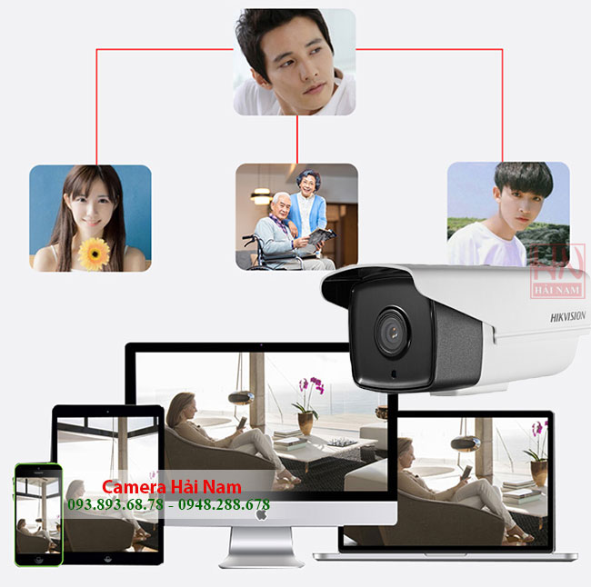 Camera Hikvision DS-2CE16H0T-IT5 5.0M Hồng ngoại 80 mét, Thân trụ chống nước IP 67