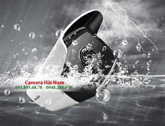 Camera Hikvision 8MP - 4K Thân Hồng ngoại 30 mét, chống nước tốt