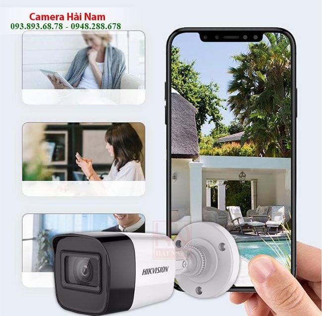 Camera Hikvision DS-2CE16U1T-ITF 8MP Siêu nét Ultra HD 4K (2160P) Thân Hồng ngoại 30 mét, chống nước tốt
