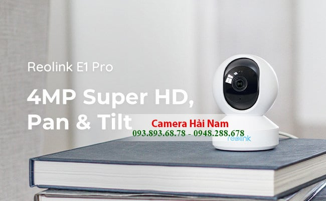 camera wifi reolink e1 pro 4mp super hd siêu sắc nét