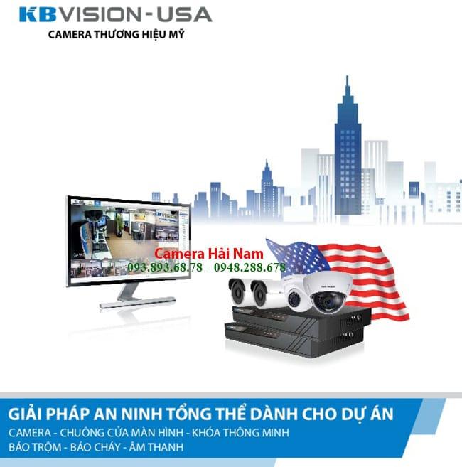 Camera KBVision 2.0M KX-2111C4 1080P Full HD, Thân hồng ngoại 20m tích hợp 4 IN 1