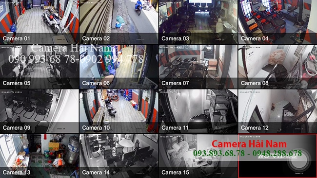 Các khu vực TIỆM NÉT được camera Dahua ghi nhận