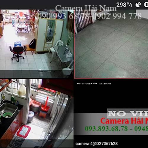 Lắp đặt 3 mắt camera Hikvision cho gia đình Anh Dương ở Quận 5, TP.HCM