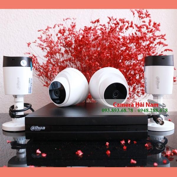 Trọn bộ camera Dahua siêu nét, Full HD 1080P