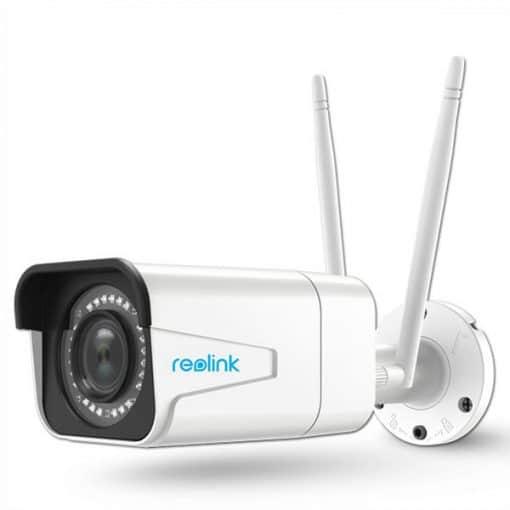 Camera Wifi Ngoài trời Reolink RLC-511W 5MP Siêu Nét 2K, Zoom quang 4X, Hồng ngoại hơn 30 mét