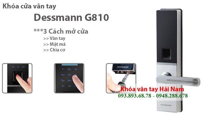 KHOA CUA VAN TAY DESSMANN G810 4