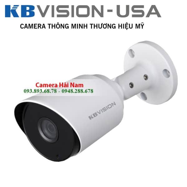 Camera KBVision 4M KX-2K11C hồng ngoại 20m chống lóa tốt, vỏ kim loại tích hợp IP67 chống nước tốt