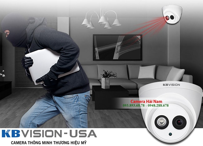 camera kbvision 2mp co micro ghi am cao cap 1