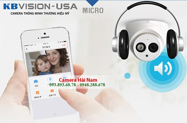 camera kbvision 2mp co micro ghi am cao cap 2