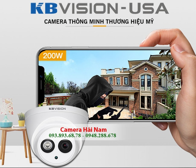 camera kbvision 2mp co micro ghi am cao cap 7