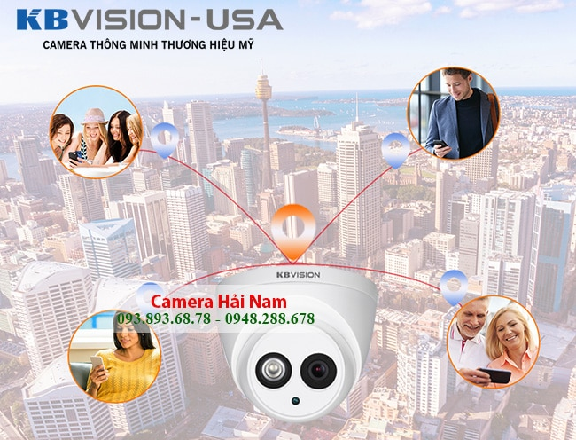 camera kbvision 2mp co micro ghi am cao cap 8