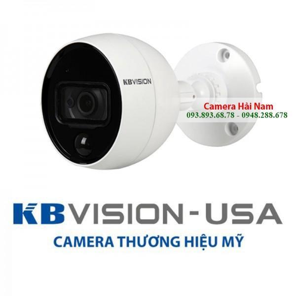 Camera KBVision 2.0M KX-2001C.PIR, hồng ngoại 20m, nhận diện trộm bằng cảm biến hồng ngoại