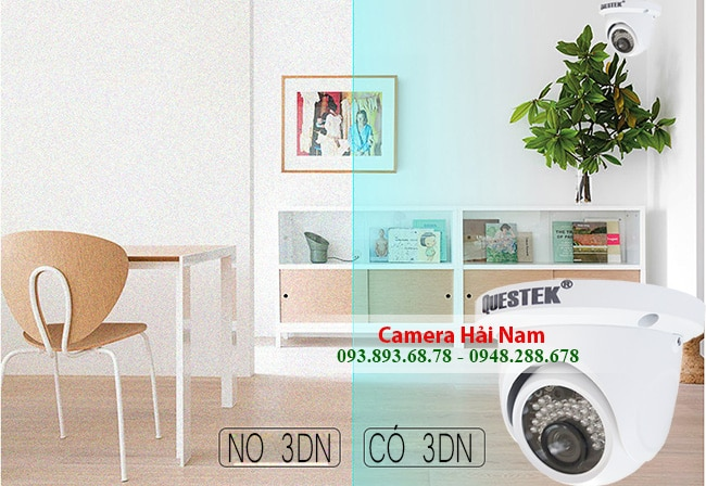 Camera Questek AHD Win-6022AHD Dome 1MP HD 720P, Hồng ngoại 20m