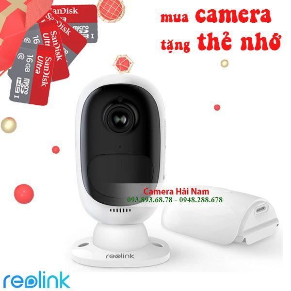 camera wifi dùng pin argus 2 cao cấp