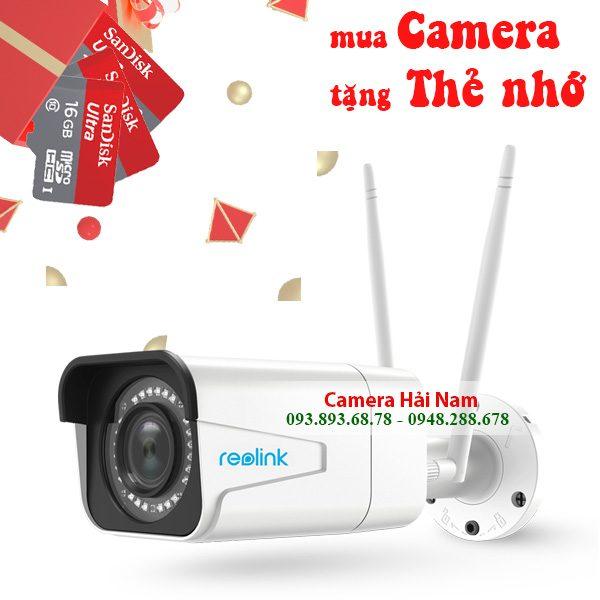 Camera IP Wifi ngoài trời Reolink RLC-511W 5MP Super HD [2560x1920], Zoom quang 4X, Hồng ngoại hơn 30 mét