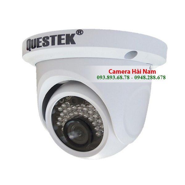 Camera Questek AHD Win-6022AHD Dome 1MP HD 720P, Hồng ngoại 20m