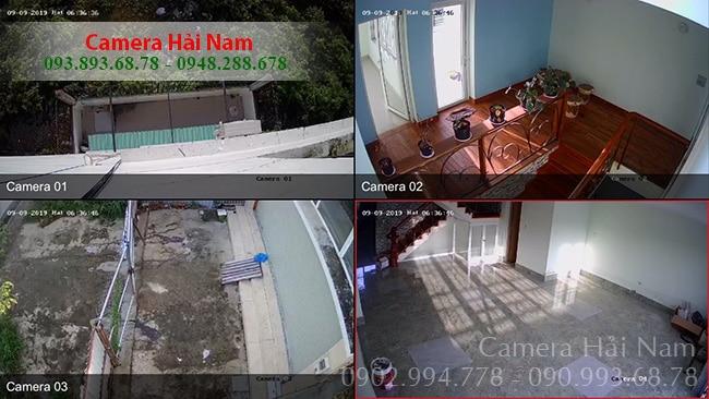 Toàn cảnh các khu vực lắp camera Hikvision tại nhà chú Ngọc ở Nhà Bè