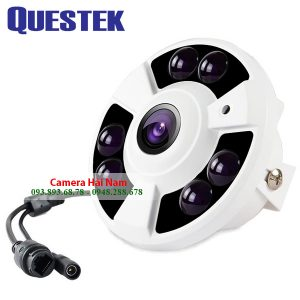 Camera Questek One QOB-4172AHD 1.3MP HD 960P dạng Mắt Cá góc siêu rộng 175° [GIẢM GIÁ 40%]