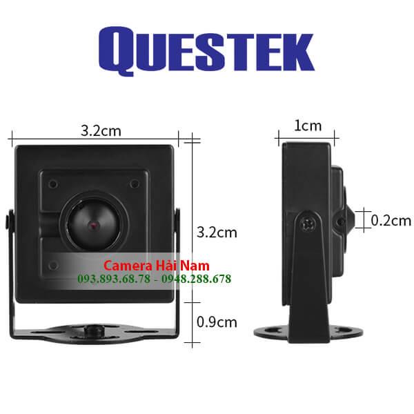 Camera mini ngụy trang Questek QOB-511AHD 1MP HD 720P