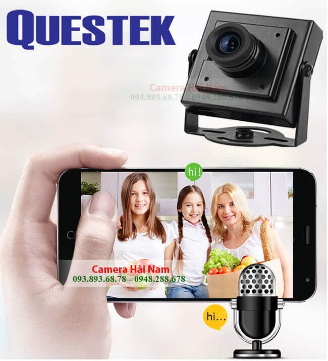 Camera mini ngụy trang Questek QOB-511AHD 1MP HD 720P
