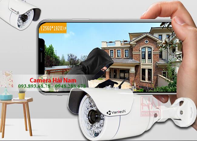 Camera Vantech VP-6012DTV 4.0MP - 2K Thân hồng ngoại 40m chuẩn H.265+