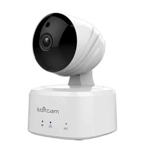 Camera Wifi Ebitcam 1MP HD 720P - quay quét 360 giám sát tiện ích