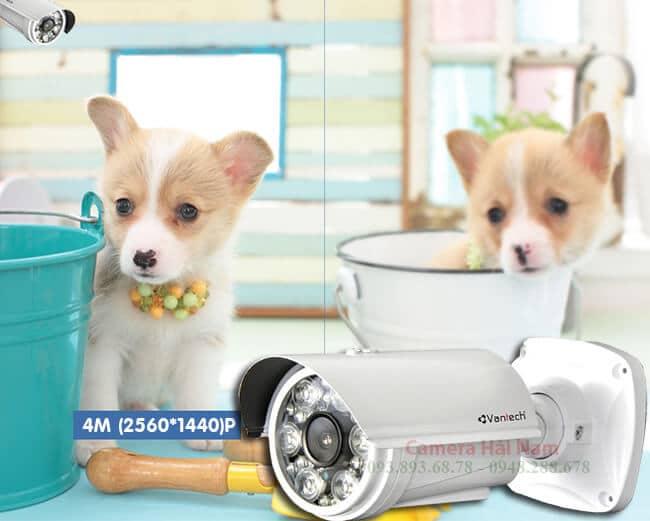 Camera Vantech VP-6042DTV 4.0MP Super HD Hồng ngoại 80 mét, chuẩn nén H.265