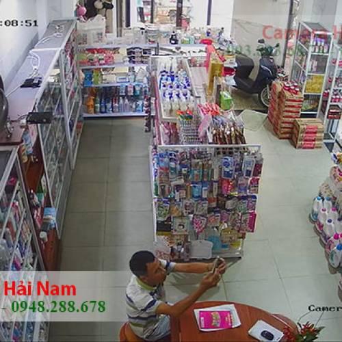 Lắp đặt 4 mắt Hikvision 5.0MP Siêu nét cho Tiệm tạp hóa gia đình anh Duẫn ở Bình Thạnh, TP.HCM