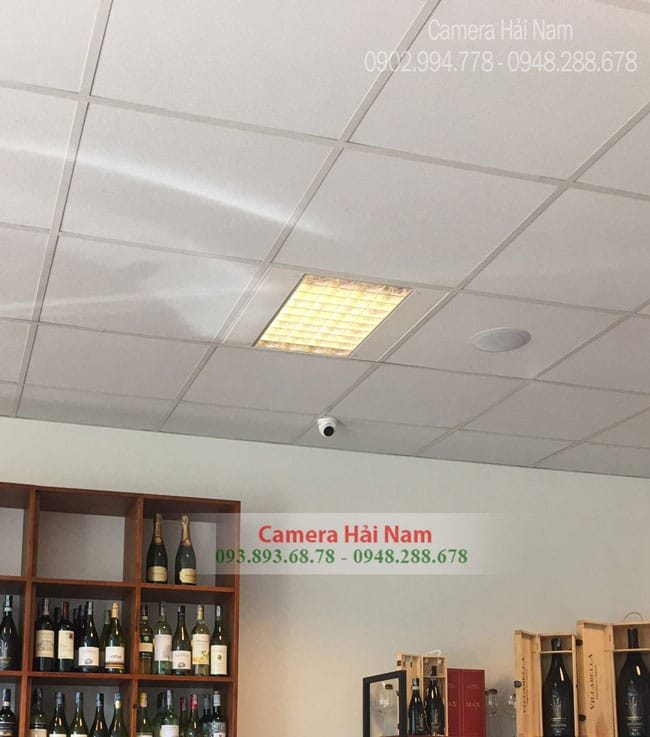 Lắp Đặt Trọn Bộ 4 Mắt Hikvision Siêu Nét 5.0 MP Cho Cửa Hàng Rượu Của Anh Tiến Ở Quận 4 – TP.HCM