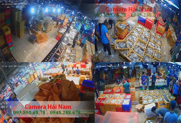 Lắp Đặt Bộ Camera Hikvision 5.0MP 2K Siêu Nét Cho Vựa Cá Trong Lòng Chợ Của Chị Tiên Ở Quận 12 - TP.HCM