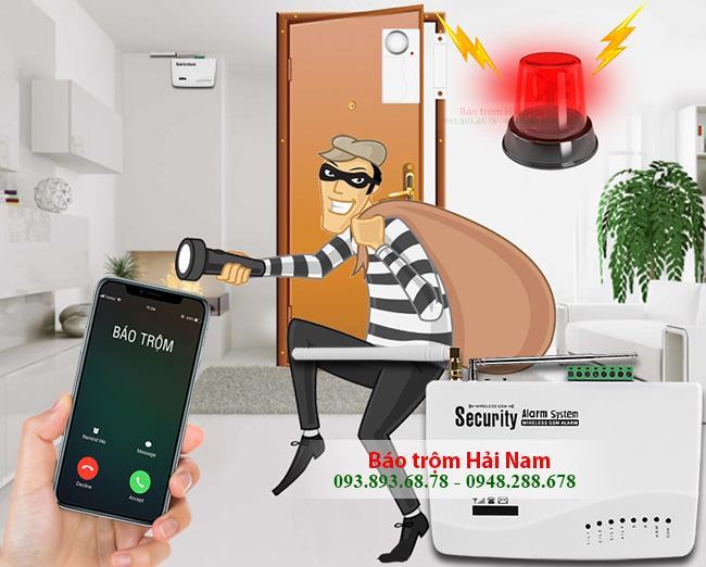 lắp đặt thiết bị chống trộm gia đình