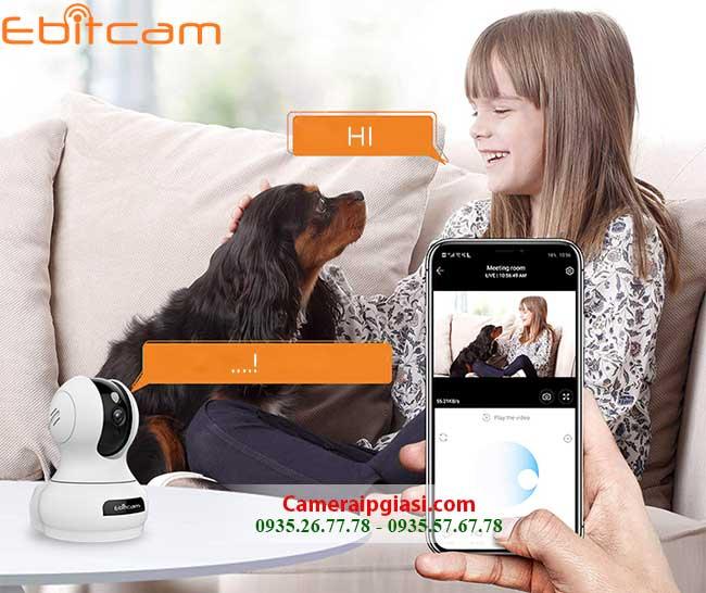 camera khong day 360 Ebitcam E2 2M 1080P
