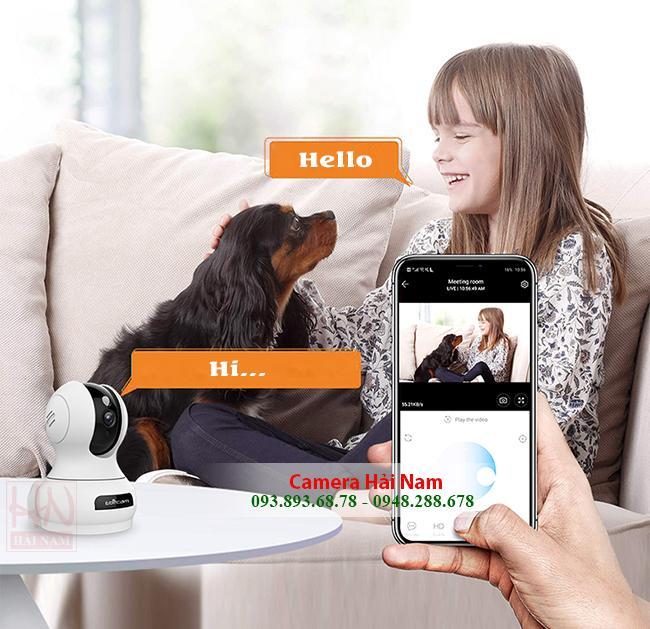 Camera Wifi Ebitcam 2MP Full HD 1080P GIÁ SIÊU RẺ - Thông minh, tiện ích