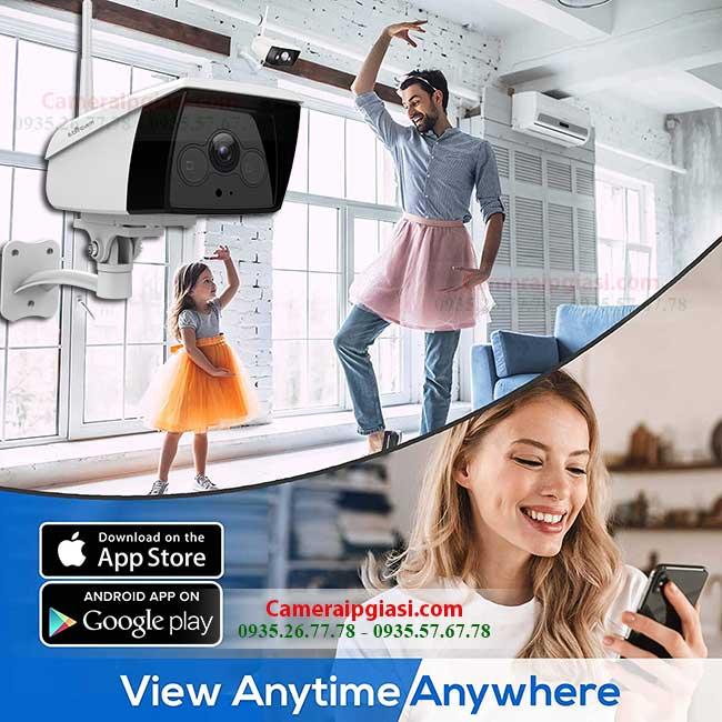camera wifi ngoai troi ebitcam ebo2 quan sat moi luc moi noi