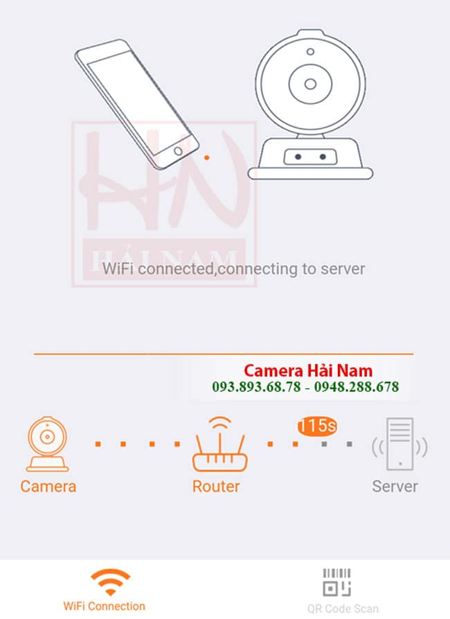 Cài đặt camera Ebitcam trên Điện thoại
