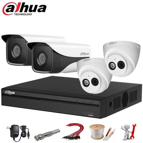 Tron bo 4 Camera IP Dahua 2MP 1080P
