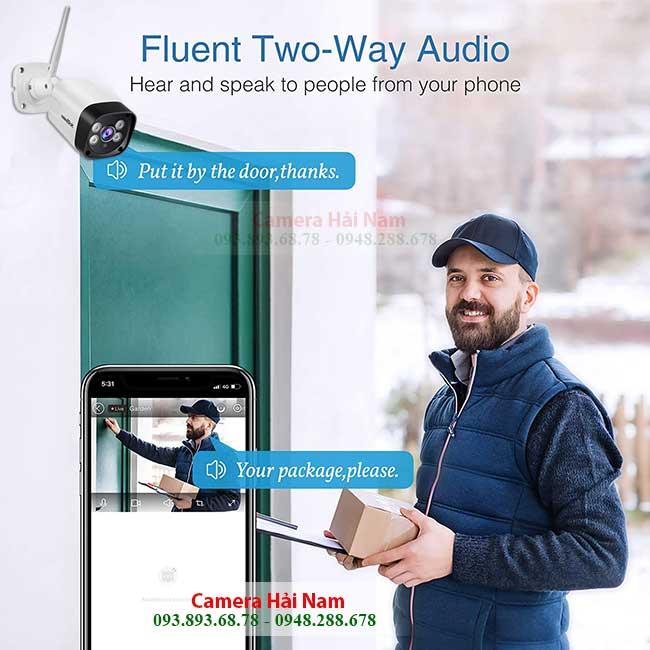 Camera Wifi Ngoài Trời Giá Rẻ 3MP_ Nét Căng | Lắp đặt Camera Ngoài trời Wifi Uy tín