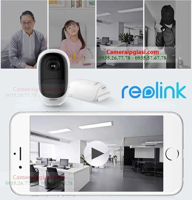 camera wifi ngoai troi dung pin reolink argus 1080p full hd