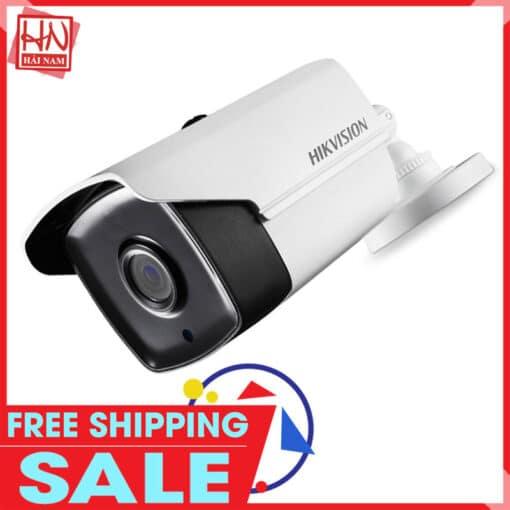 Camera HDTVI Hikvision 2MP DS-2CE16D0T-IT3 Hồng Ngoại 40M, IP66, Giá Siêu Tốt