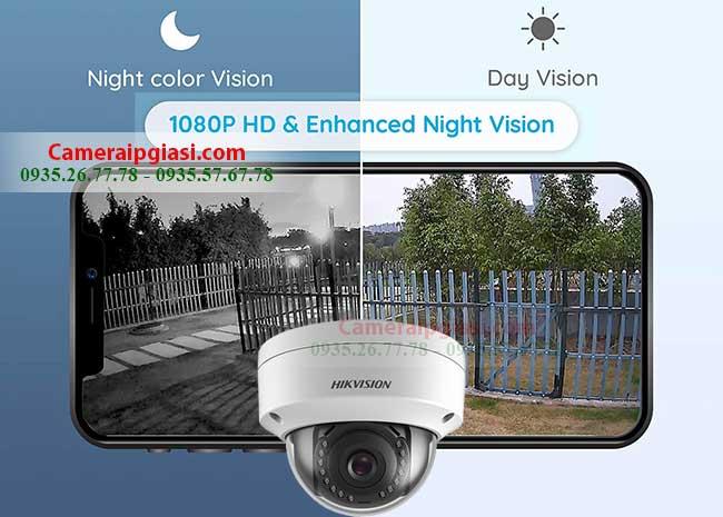 Camera IP Hikvision 2M DS-2CD2121G0-I IR 30m, Giá Siêu Ưu Đãi