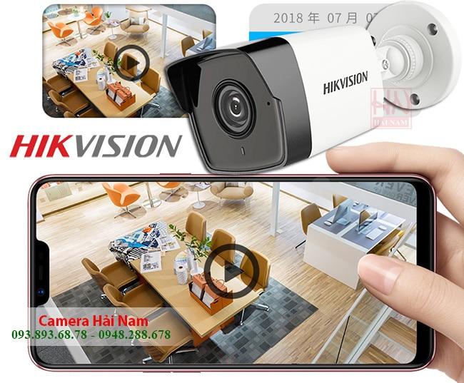 Camera Hikvision IP DS-2CD1043G0-I Siêu nét 4.0MP, Hồng ngoại 30 mét