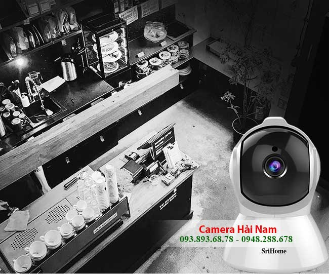 Camera SriHome SH025 co hong ngoai quan sat ban dem