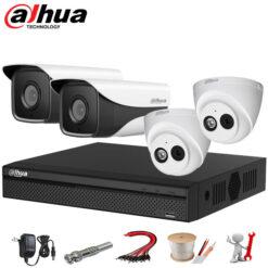 Bộ Camera IP Dahua 4 mắt 2MP Full HD 1080P