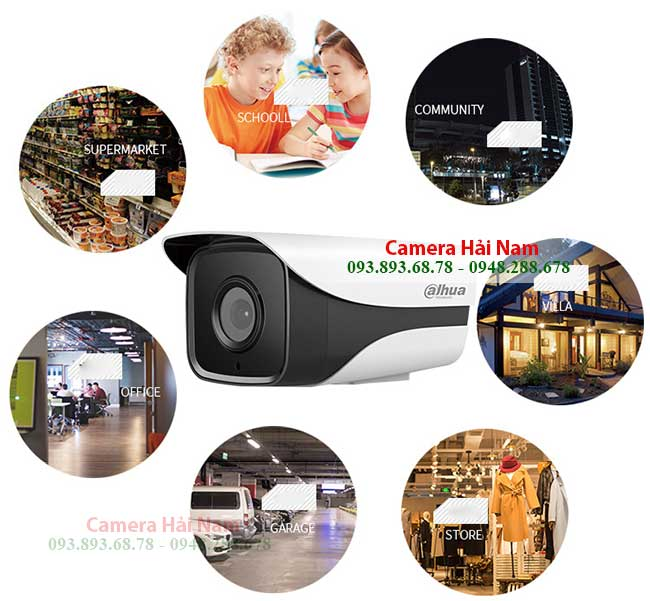 Bộ Camera IP Dahua 4 mắt 2MP Full HD 1080P